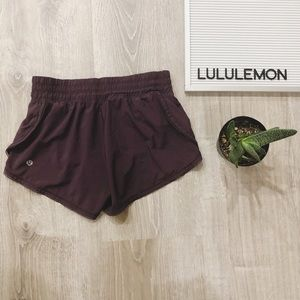 Lululemon Athletica Black Current Running Shorts